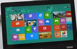 Thị phần Windows 8 tăng trưởng chậm