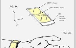 iWatch màn hình dẻo xuất hiện trong bằng sáng chế của Apple