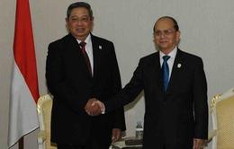 Tổng thống Indonesia thăm Myanmar