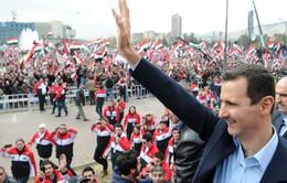 Tổng thống Syria xuất hiện trước công chúng