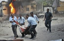 Somalia: 11 người chết trong vụ đánh bom đoàn xe chính phủ