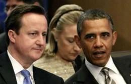 Mỹ, Anh hội đàm về vấn đề Syria
