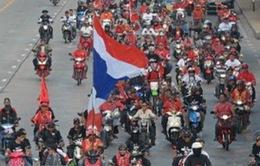 """Thái Lan: Hàng chục nghìn người """"Áo Đỏ"""" tuần hành ở Thủ đô"""