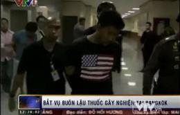 Bắt vụ buôn lậu chất gây nghiện lớn nhất tại Bangkok