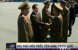 Đặc phái viên Triều Tiên sang Trung Quốc