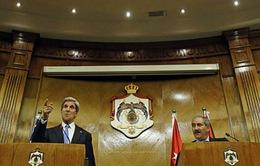 Ngoại trưởng Mỹ thăm Jordan