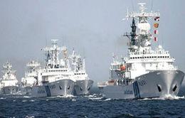 Tàu cá Nhật đi vào khu vực biển tranh chấp