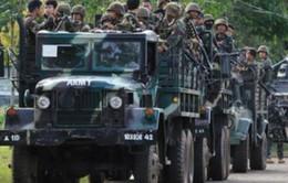 Quân đội Philippines đụng độ phiến quân Abu Sayyaf