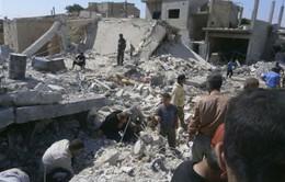 Quân đội Syria tấn công bằng pháo hạng nặng vào Qusair