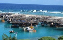 Âu tàu cứu hộ - Điểm tựa của ngư dân giữa biển Đông