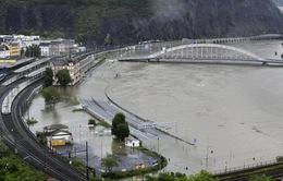 Lũ lụt tại Đức khiến hơn 1.000 người sơ tán