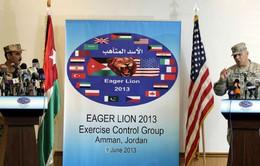 Mỹ tập trận đa quốc gia tại Jordan
