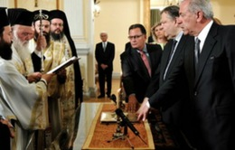 Nội các mới của Hy Lạp tuyên thệ nhậm chức