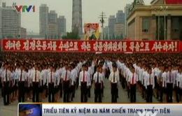 Triều Tiên kỷ niệm 63 năm chiến tranh liên Triều