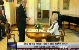 Ông Kevin Rudd tuyên thệ nhậm chức Thủ tướng Australia
