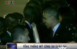 Tổng thống Mỹ bắt đầu chuyến công du châu Phi