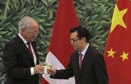 Trung Quốc và Thụy Sỹ ký FTA