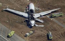 Đâm xuống đường băng, máy bay của Asiana Airlines gây thương vong lớn
