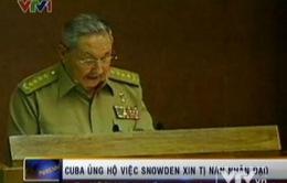 Cuba ủng hộ các nước cho Snowden tị nạn nhân đạo