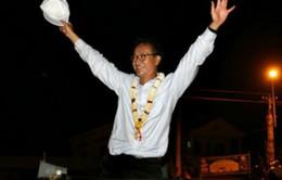 Quốc vương Campuchia ân xá cho ông Sam Rainsy