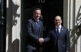 Tổng thống Myanmar thăm Anh