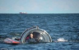 Tổng thống Nga lặn biển thám hiểm chiến hạm bị chìm
