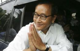 Chủ tịch Đảng Cứu quốc trở về Campuchia