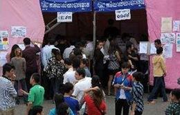 Campuchia công bố kết quả bầu cử Quốc hội