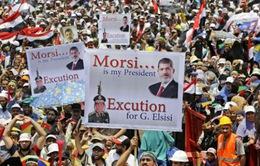 Ai Cập đặt thời hạn cho người biểu tình giải tán