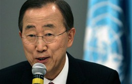 Tổng Thư ký Ban Ki-moon thăm Pakistan