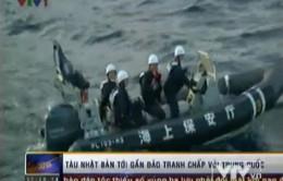 Tàu Nhật Bản tới gần đảo tranh chấp với Trung Quốc