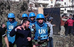 Thanh sát viên vũ khí hóa học của LHQ tới Syria