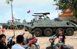 Campuchia bắt giữ 4 người rải truyền đơn