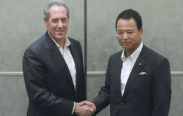 Mỹ, Nhật Bản đồng ý hợp tác tiến tới ký TPP
