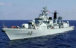 Tàu chiến Trung Quốc thăm Mỹ, Australia và New Zealand