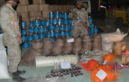 Pakistan thu giữ hơn 100 tấn hóa chất chế tạo bom