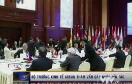 Kết thúc Hội nghị Bộ trưởng Kinh tế ASEAN 45