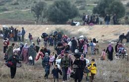 15 giây, 1 người Syria rời bỏ đất nước, chạy trốn chiến tranh