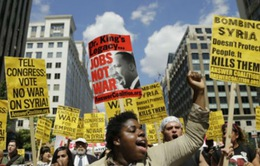 Dư luận Mỹ ủng hộ giải pháp ngoại giao về Syria