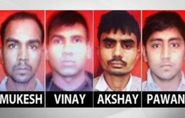 Ấn Độ tử hình 4 tên tội phạm hiếp dâm