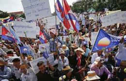 Phức tạp tình hình chính trị tại Campuchia sau bầu cử