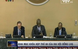 Đại Hội đồng LHQ khóa 68 chính thức khai mạc