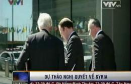 Hội đồng Bảo an LHQ thảo luận dự thảo nghị quyết về Syria