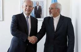 Ngoại trưởng Iran gặp Ngoại trưởng Anh