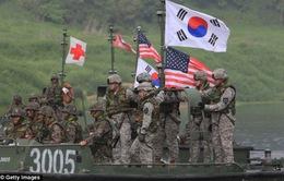 Mỹ - Hàn tập trận sát biên giới Triều Tiên