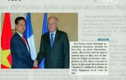 Báo chí Pháp quan tâm đặc biệt tới chuyến thăm của Thủ tướng