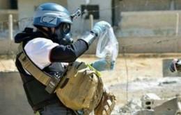 Các chuyên gia bắt đầu sứ mạng giải giáp vũ khí ở Syria