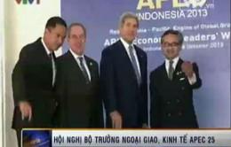 Hội nghị Bộ trưởng Ngoại giao và Kinh tế APEC 25