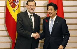 Nhật Bản, Tây Ban Nha cam kết tăng cường quan hệ