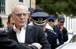 Cựu Bộ trưởng Quốc phòng Hy Lạp bị kết án 20 năm tù